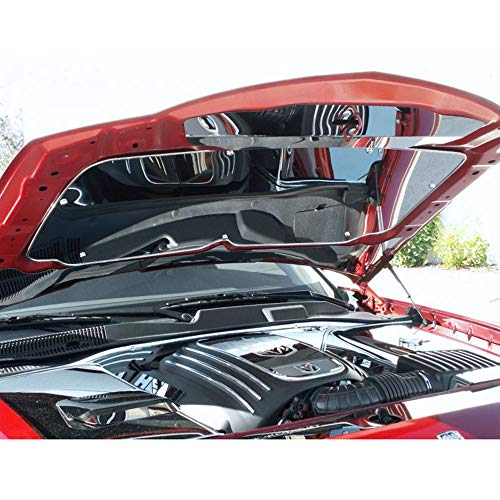 Elite Auto Chrome Acc Hood Panel fit for 2005-10 Chrysler/Dodge ()