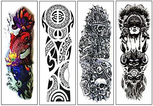 REFURBISHHOUSE 4 Piezas/Lote Impermeable Pegatina De Tatuajes ...