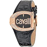 Just Cavalli Damen-Armbanduhr Analog Quarz Leder R7251160509
