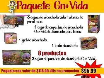 Alcachofa Capsulas,gel,parches,te,ampolletas Gn+vida Paquete 8 Productos