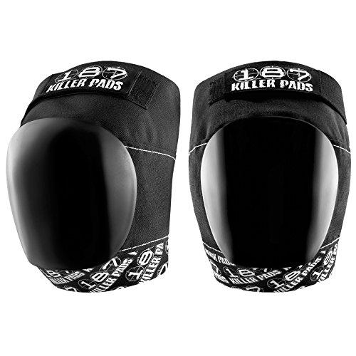 187 Killer Pro Knee Pads, X-Large, Black / Black by 187 Killer Pads (Image #3)