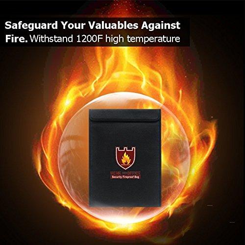 Fireproof Document Bag(15\