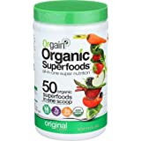 Orgain Organic Superfoods, Original, Vegan, Gluten Free, Non-GMO, 0.62 Pound, 1 Count