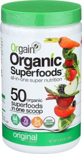 Orgain Organic Superfoods, Original, 0.62 Pound, 1 Count, Vegan, Non-GMO, Gluten Free (Packaging May Vary)