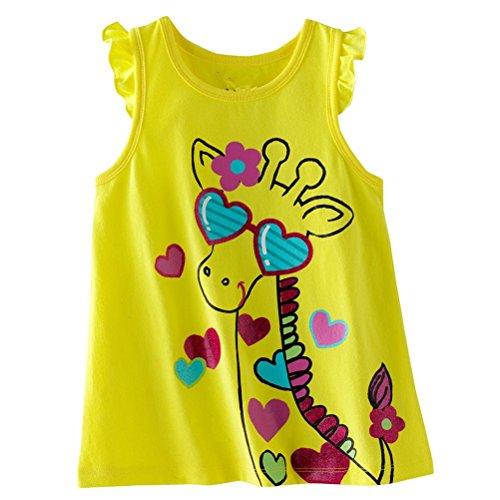 Baby Box Baby Girls' kids Toddler Sleeveless Tank T-Shirts Size 24M