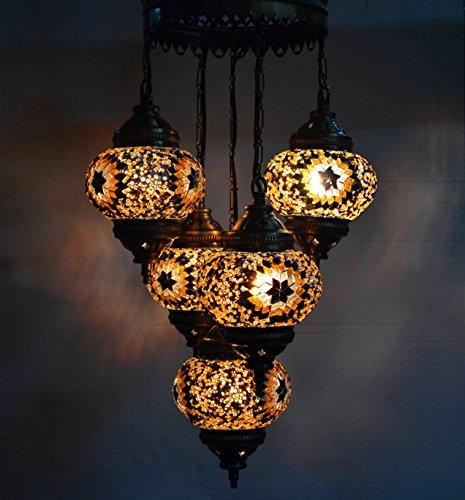 Moroccan Style Pendant Light - 8