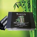 NARDA Natural Bamboo Charcoal Soap Beauty Health Care Detox Smooth Skin 100 g. by jawnoy
