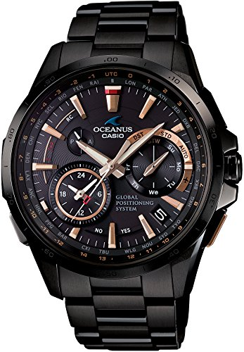 CASIO OCEANUS OCW-G1000B-1A2JF GPS HYBRID WAVECEPTOR Men's WATCH