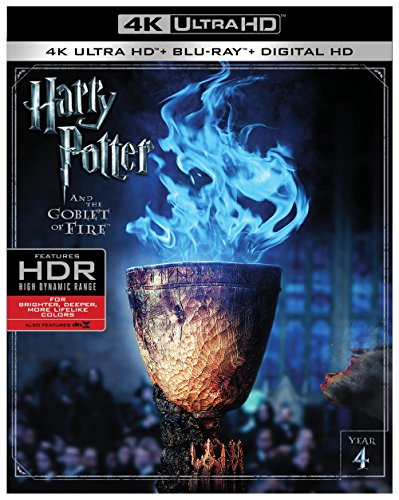 4K Blu-ray : Harry Potter And The Goblet Of Fire (With Blu-Ray, 4K Mastering, Digitally Mastered in HD, 2 Pack, 2 Disc)