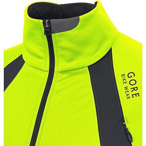 Gore Hombre negro Amarillo Oxygen Chaqueta Neon AEwaqArx