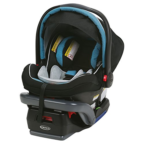 Graco SnugRide SnugLock 35 Elite Infant Car Seat featuring Safety Surround Technology, Blue