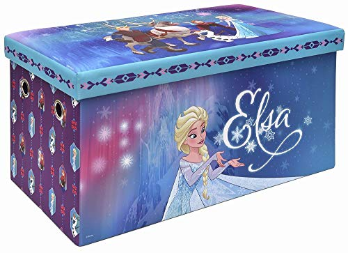 Frozen Storage Bench and Toy Chest, Officially Licensed, Perfect for any Playroom or Bedroom ()