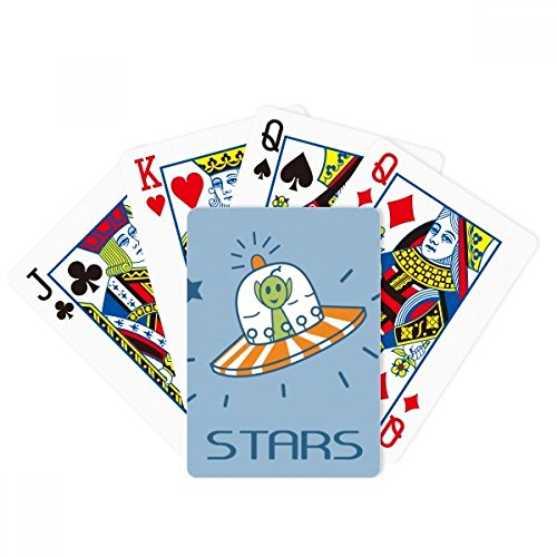 beatChong Universe And Alien Travel Among Stars Poker Playing Card Tabletop Board Game Gift by beatChong