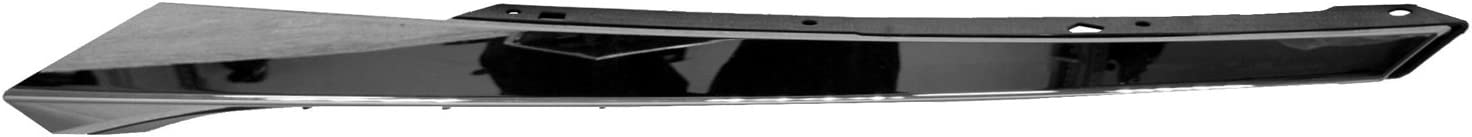 2016-2018 Honda Civic Driver Side Grille Molding; Chrome; For Coupe And Sedan Models; Except Si; Made Of Pp//Abs Plastic Partslink HO1212117C