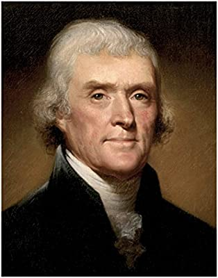 Official United States Presidential Portrait Series: THOMAS JEFFERSON