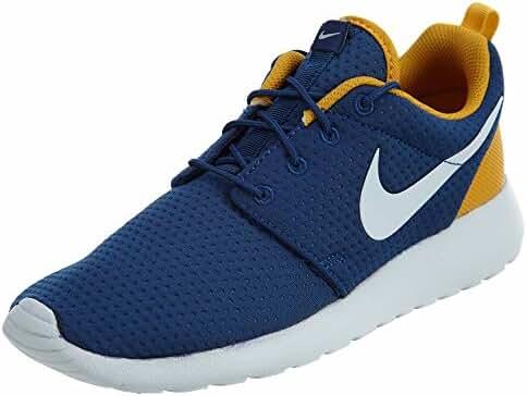 Nike Men's Roshe One SE, COASTAL BLUE/PURE PLATINUM-GOLD LEAF, 6.5 M US