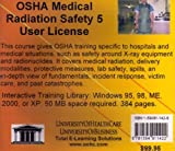 OSHA Medical Radiation Safety, 5 Users, Farb, Daniel and Gordon, Bruce, 1594911428
