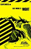 CliffsNotes on Wiesel's Night by Maryam Riess (1996-08-22)