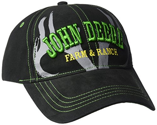 John Deere Big Boys' Baseball Cap, Black, Youth John Deere Youth Cap