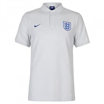 1bc20c80 Nike 2018-2019 England Core Pique Polo Polo Football Soccer T-Shirt  (Platinum): Amazon.co.uk: Sports & Outdoors