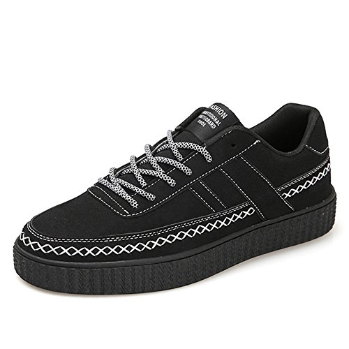 primavera negro 5 CN40 colores color EU39 ocio de Calzado Calzado Feifei hombre 3 de tamaño deportivo y UK6 xa07npqBUw