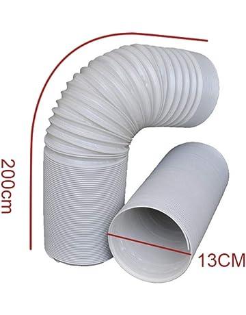 s/èche-linge Tuyau d/évacuation VIOKS 125 mm 8m tuyau flexible en PVC pour climatisation