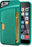 "iPhone 6/6s Wallet Case - Q Card Case for iPhone 6/6s (4.7"") by CM4 - Ultra Slim Protective Phone Cover (Pacific Green)"