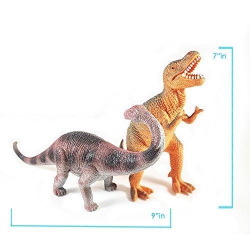 "Boley 12 Pack 9"" Educational Dinosaur Toys - Kids ..."