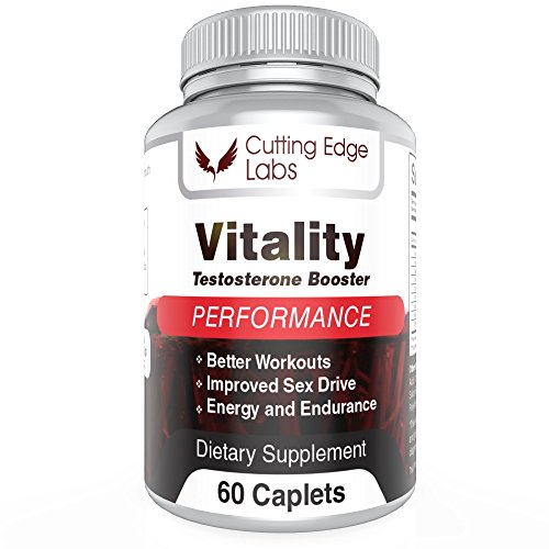 Saw Palmetto Anabolic (Vitality Testosterone Booster for Building Muscle and Burning Fat for Men with Horny Goat Weed, Maca, Saw Palmetto and More Powerful Male Enhancing Ingredients - (60 caplets))