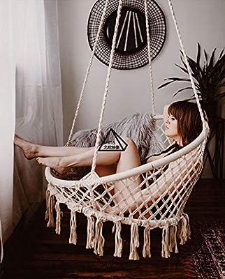 Silla hamaca Brasil de Rain Queen, sillón colgante, hamaca, silla ...