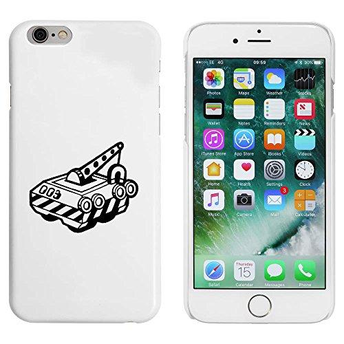 Blanc 'Robot Grue à Aimant' étui / housse pour iPhone 6 & 6s (MC00031738)