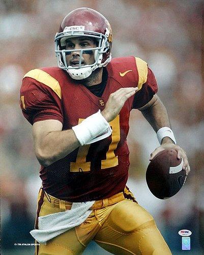 (Matt Leinart Signed 16 x 20 Photograph USC Trojans - Certified Genuine Autograph By PSA/DNA - Autographed)