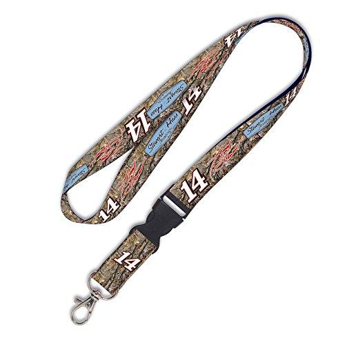 Tony Stewart Official NASCAR 20 inch Lanyard Key Chain Keychain by (Stewart Nascar Key)