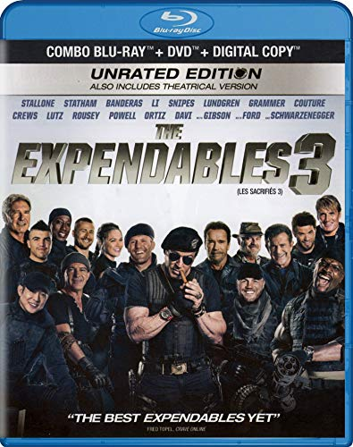 The Expendables 3 (Unrated Edition) (Blu-ray + DVD)