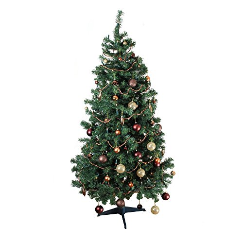 deluxe alpine 6ft 700 tips xmas christmas tree mislead you as the tree is a very good example how you can get a great tree for just a few bucks - Type Of Christmas Trees
