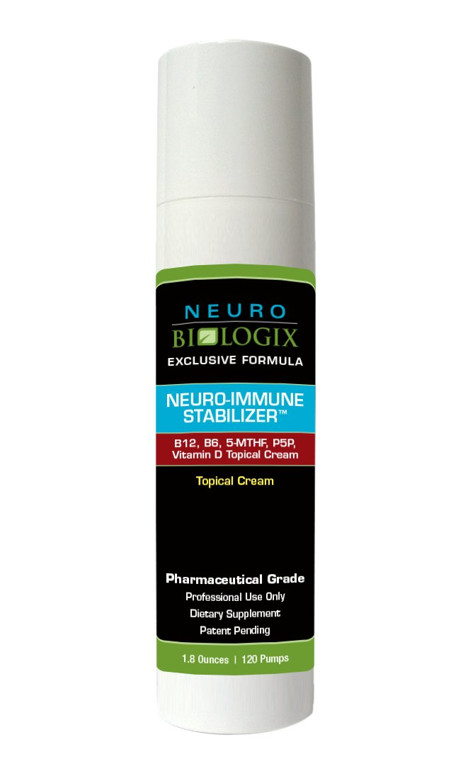 Neuro-Immune Stabilizer Topical Cream 1.8 Ounces/ 120 Pumps by Neuro biologix
