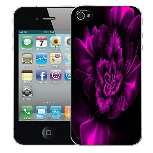Mobile Case Mate iPhone 4 4s clip on Dur Coque couverture case cover Pare-chocs - vintage floral Motif