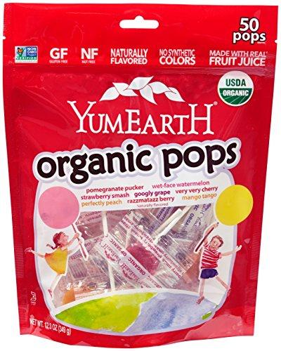 YumEarth Organic Lollipops, 12.3 Ounce Bag