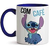 Caneca Stitch com café sem café