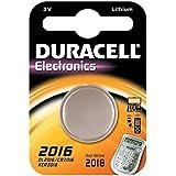 """DURACELL Lot de 10 piles bouton lithium """"Electronics"""" CR2016"""