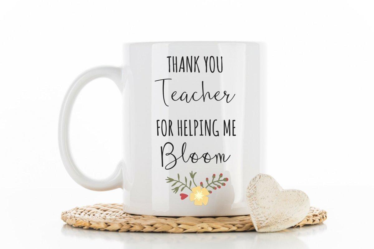 Teacher Mug For Teacher Gifts For Teacher Coffee Mug Thank You Appreciation