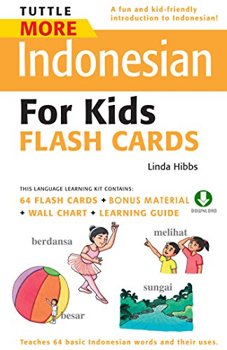 Download Tuttle More Indonesian for Kids Flash Cards: (Downloadable Audio and Material Included) (Tuttle Flash Cards) Pdf