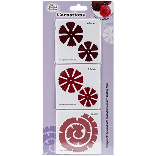 Quilled Creations Quilling Dies, Carnations by Quilled Creations