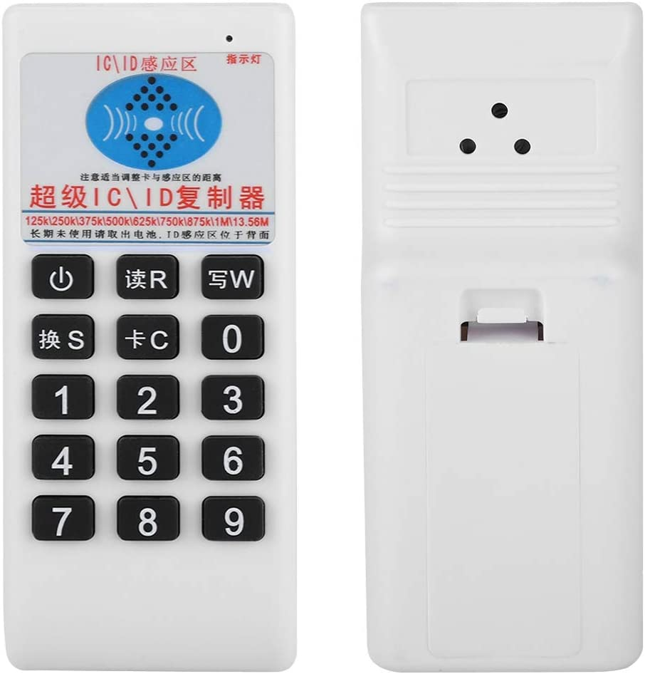 fosa Handheld RFID IC//ID Card Reader Writer etc Portable 125Khz 13.56MHZ Multi-Frequency Intelligence Access Card with LED Light /& Buzzer for EM4305//EM5200//EM8800