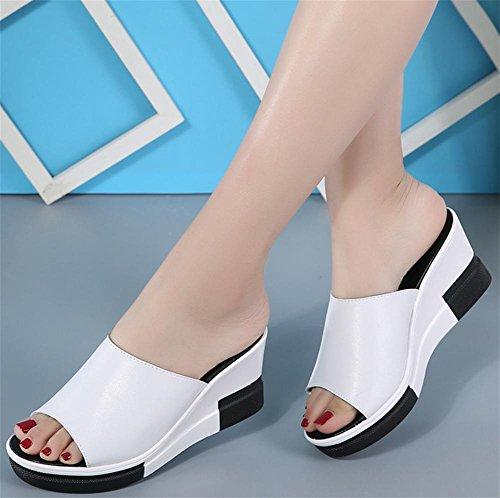 Zapatillas de verano con sandalias gruesas sandalias de damas 1