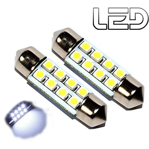 39/ luz para el interior del coche o el maletero 2 unidades 8/LED Casquillo SV8.5-8/para veh/ículo Bombilla tipo fusible 12/V /40/mm color blanco fr/ío