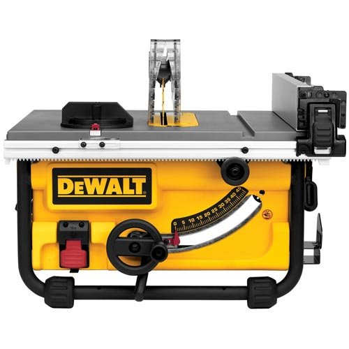 DEWALT DWE7480 10 in. Compact Job Site Table Saw with Site-Pro Modular Guarding System