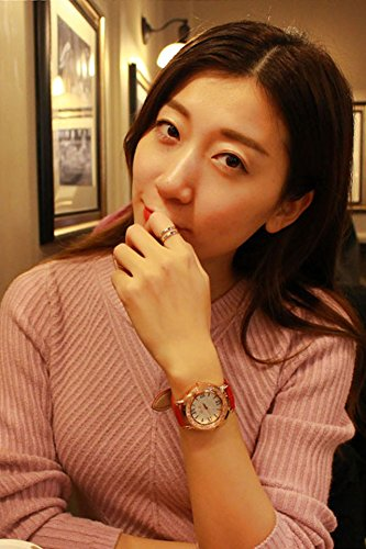 Generic watch girls_Korean_ fashion stylish _water_drill_ women girl watch es_ quartz watch _with_ watch es_casual_ fashion _jacket