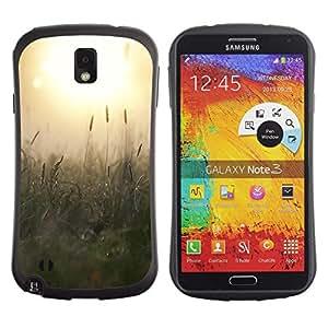 Suave TPU GEL Carcasa Funda Silicona Blando Estuche Caso de protección (para) Samsung Note 3 / CECELL Phone case / / Summer Sun Green Trees Warm Yellow /