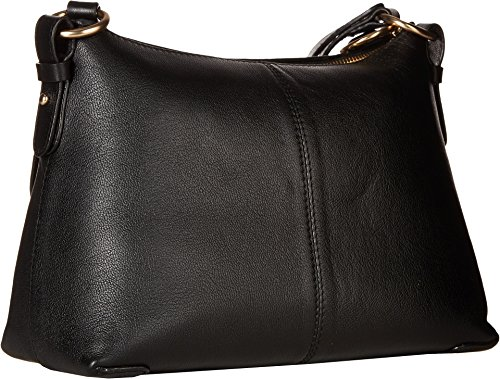 Bag Womens by Joan Chloe Small amp; Black Suede Leather Shoulder See zqRwFR